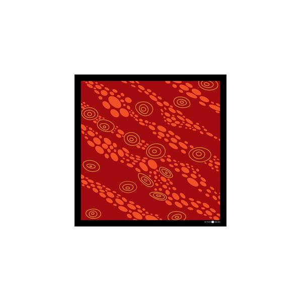 Sunzi Star Dreaming Red Kerchief