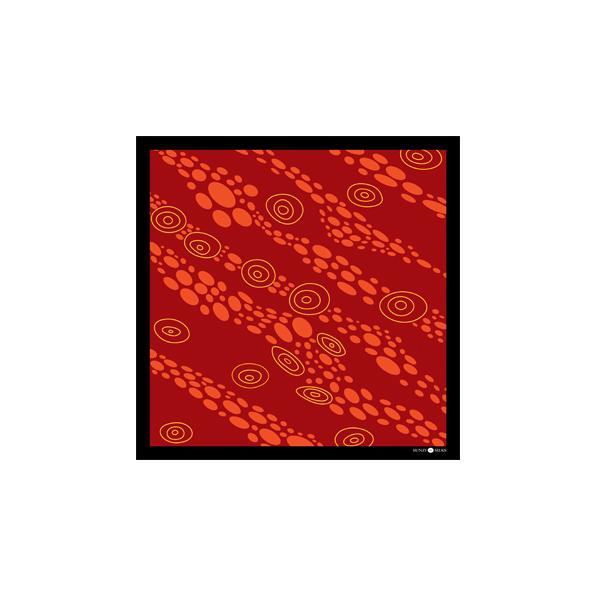 Sunzi Star Dreaming Red Neckerchief